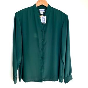 NWT Pendleton Button Up Blouse